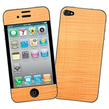 Figured Sycamore Skin for the iPhone 4/4S by skinzy.com