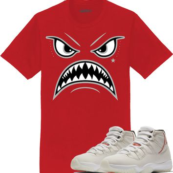 Jordan 11 Platinum Sneaker Tees Shirt - OREO WARFACE