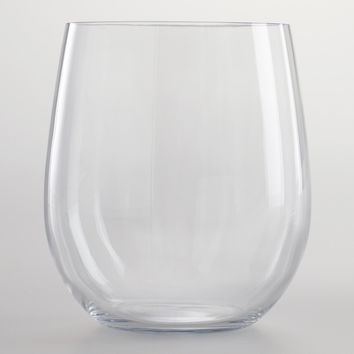 Clear Acrylic Stemless Tumblers, Set of 4 - World Market
