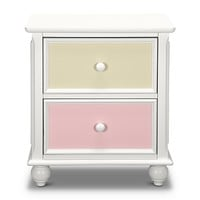 Colorworks White Kids Furniture Nightstand