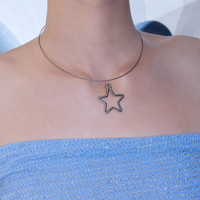 Charmed One Silver Star Choker