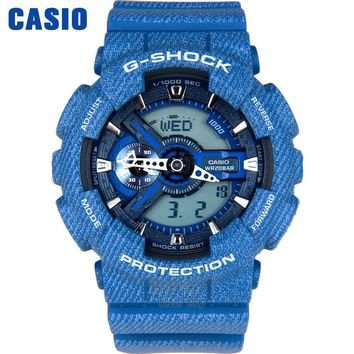 Casio watch Outdoor sports shock waterproof double significant men watch GA-110DC-2A GA-110DC-1A