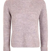 Lofty Turn Back Cuff Jumper