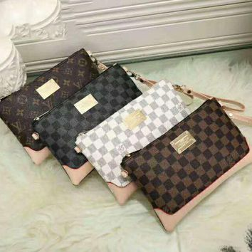 LV Small Satchel Women Leather Purse Wallet H-LLBPFSH