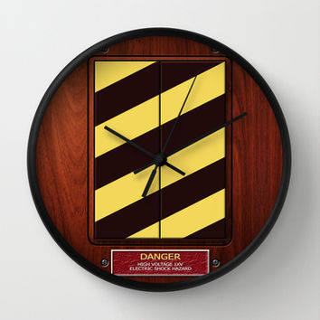 Ghostbuster High voltage Ghost Trap box Decorative Circle Wall Clock Watch by Three Second