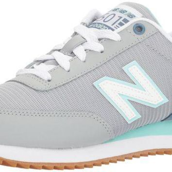 DCCK1IN new balance women s 501 lifestyle fashion sneaker silver mink deep porcelain blue 6 5 b m us