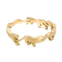 Marc Alary 18kt Gold 'cheetah Cycle' Ring - Capitol - Farfetch.com
