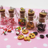 Custom Candy Necklace - licorice, Marshmallow, oreo's, Candy canes, Chocolate chip cookie
