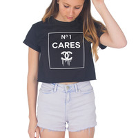 No 1 Cares Crop Shirt