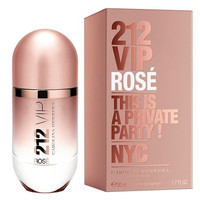 Carolina Herrera 212 VIP Rose 2014 Collection Eau De Perfume EDP 1.7 oz 50ml