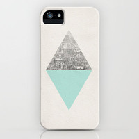 Diamond iPhone Case by David Fleck