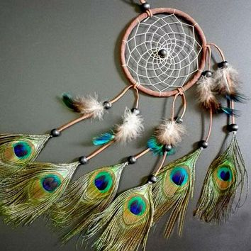 Dream Catcher with feathers wall or car hanging decoration ornament Room Decor