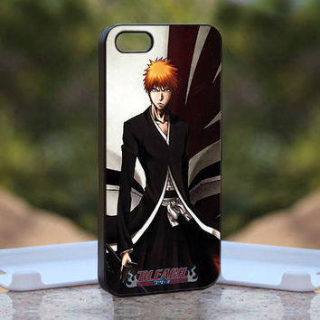 bleach kurosaki ichigo hollow mask MQL0198 - Design available for iPhone 4 / 4S and iPhone 5 Case - black, white and clear cases