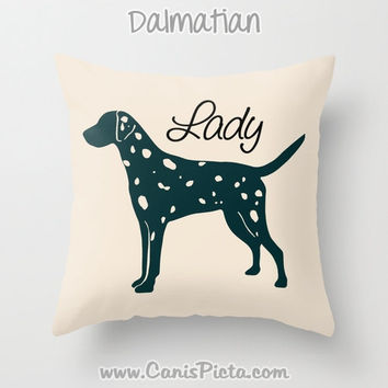 Custom Pet Dog 16x16 Decorative Throw Pillow Cover Personalize Simple Commemorative Memorial Purebred Hound Terrier Breed Sealyham Laekenois