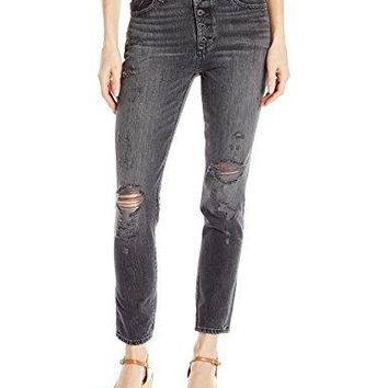 Lucky Brand Women's High Rise Bridgette Skinny Jean in Crash