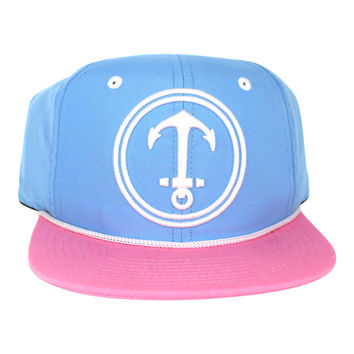 KIDS HAT - Yacht Party - Carolina Blue / Pink /White