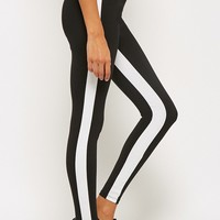 Active Contrast Trim Leggings