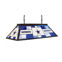 Dallas Cowboys NFL 40 Inch Tiffany Billiards Lamp