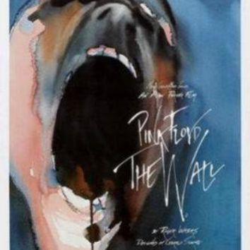 Pink Floyd The Wall movie poster Sign 8in x 12in