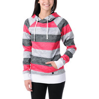 Empyre Girl Frosty Black, Pink & White Pullover Tech Fleece