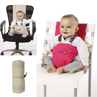 Baby Chair Portable Infant Seat Product Dining Lunch Chair/Seat Safety Belt Feeding High Chair Harness Baby Cadeira Backpacks