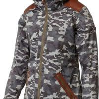 Roxy Ridgemont Womens Snowboard Jacket - Camo Shopping Bag