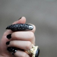 Eagle Nail Fashion Statement Ring | LilyFair Jewelry