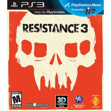 Resistance 3 for the Playstation 3