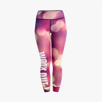 City Night View Workout Leggings
