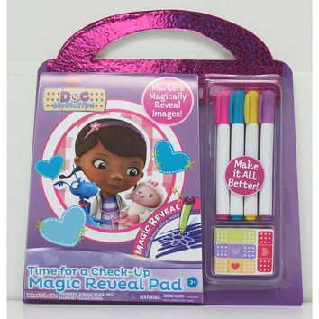 Disney Doc McStuffins Time for a Check-Up Magic Reveal Pad