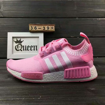 "Women ""Adidas"" NMD Boost Casual nmd Sports Shoes Pink"