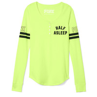 Sleep Henley - PINK - Victoria's Secret