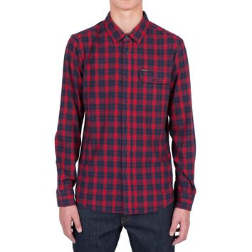 Volcom Fulton Men's Long Sleeve Flannel