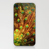 abstract with peacock iPhone & iPod Skin by Marianna Tankelevich | Society6