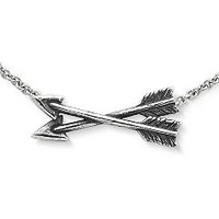 Crossed Paths Friendship Necklace | James Avery