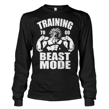 Super Saiyan - Training to go beast mode -Unisex Long Sleeve - SSID2016
