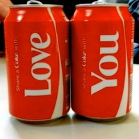 Coke Love You !!  | via Tumblr