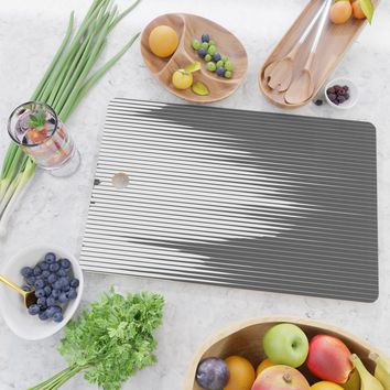 Grays Striped Cutting Board by duckyb