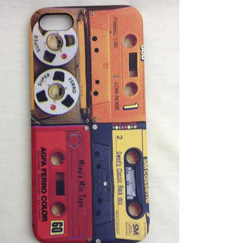 Iphone 5s case Cassette Tape IPhone 5s cover 80's Pop Music IPhone case Trendy Phone cases I Phone 5s accessories