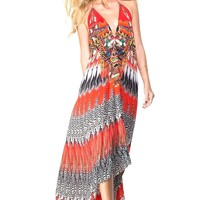 Parides Silk Print Dress