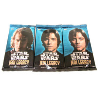 Star Wars Jedi Legacy TOPPS Trading Cards - Three (3) Packs