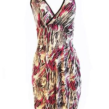 Romantic Sini Womens Summer Dress V Neck Beach Casual Sundress