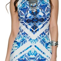 SWELL SALTY AIR BODY CON DRESS