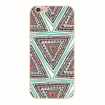 Ethnic Style iPhone 6 6S Plus creative case + Gift Box-128