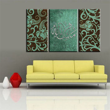 Best Teal Canvas Painting Products on Wanelo