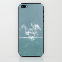 The Water Horse iPhone & iPod Skin by Paula Belle Flores