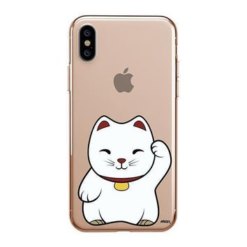 Lucky Cat - iPhone Clear Case