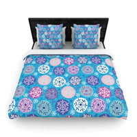 "Julia Grifol ""Floral Winter"" Lightweight Duvet Cover"