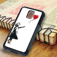The Girl With Balloon Heart | For Samsung Galaxy S6 Cases | Free Shipping | AH1160