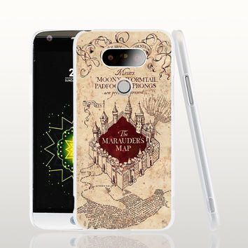 09286 Marauders Map Harry Potter cell phone protective case cover for LG G5 G4 G3 K10 K7 Spirit magna